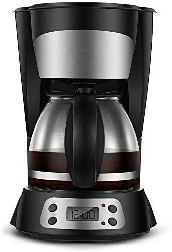 Espressomaschine, Kaffeemaschine, Kaffeemaschine, Filterkaffeemaschine, programmierbare 10-Tassen-Kaffeemaschine mit Timer, WarmAuto-Off-Funktion, Anti-Tropf-System, permanenter wiederverwendbarer Fi
