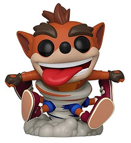 Funko- Pop Figura in Vinile Games Bandicoot-Crash Collezione, Multicolore, 43343