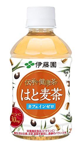 伊藤園 伝承の健康茶 はと麦茶 80ml 1箱 4本