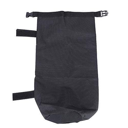 Peso del toldo de liberación rápida, bolsas de pesas con tela de nylon Paño de tela Oxford Patas de tiendas (Negro)