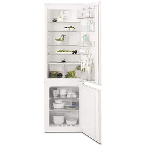 Electrolux ENANY52AOW Einbau-Kühlschrank 253L A++ Weiß – Gefrierschrank (253 L, SN-ST, 4 kg/24h, A++, neue Fächer, Weiß