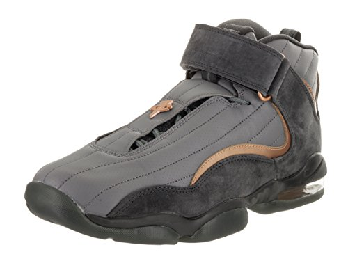 Nike Men's Air Penny IV Wolf Basketball Shoe