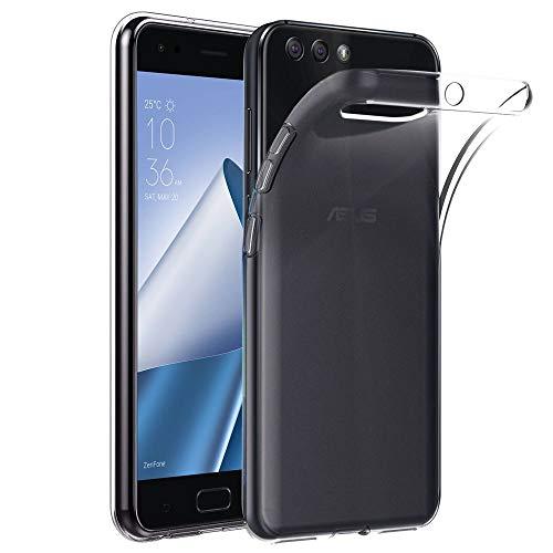 ebestStar - kompatibel mit Asus Zenfone 4 Hülle ZE554KL Handyhülle [Ultra Dünn], Premium Durchsichtige Klar TPU Schutzhülle, Soft Flex Silikon, Transparent [Phone: 155.4 x 75.2 x 7.7mm, 5.5'']