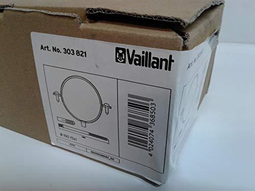 Vaillant 303821 Kit Fascette Fissaggio a Muro, Bianco