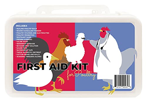 My Pet Chicken Complete First Aid Kit for Poultry
