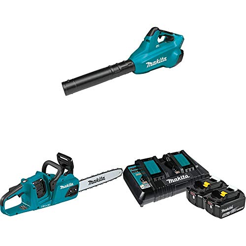 Purchase Makita XBU02Z 18-Volt X2 (36V) LXT Lithium-Ion Brushless Cordless Blower and XCU07Z Cordles...