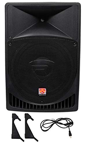 "Rockville RPG15 15"" Professional Powered Active 1,000 Watt 2-Way DJ PA Speaker"