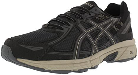 ASICS Men s Gel Venture 6 Black Dark Grey Feather Ankle High Running Shoe 10 5M product image