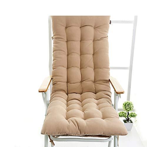 YU&AN Coussin de Chaise Longue,Coussin Chaise berçante,épaississement Anti-dérapant Coussin de Chaise Coussin Outdoor pour Jardin Table Office-B 48x130x6cm(19x51x2inch)