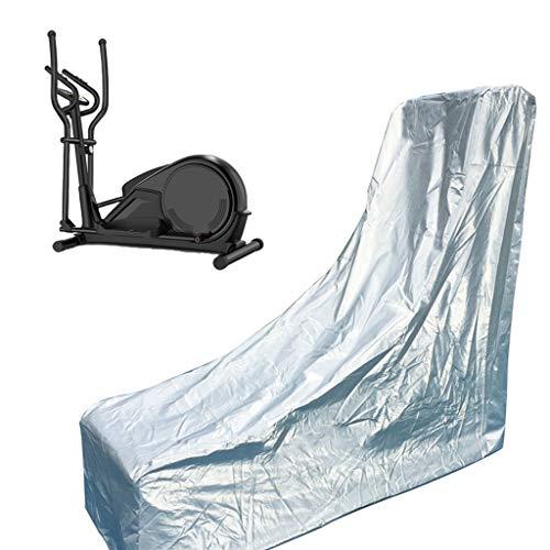 ZHAN YI SHOP Cubierta Protectora para Máquinas Elípticas De Accionamiento Trasero, Trabajo Pesado/UV/Molde/Moho/Resistente Al Agua, Plata De Hielo (tamaño : L)