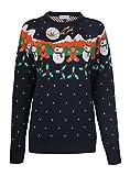 Neuheit Schneemann Rentiere Pullover