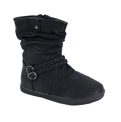 By Shoes - Bottine Style Indien pour Enfant - Taille 24 - Black