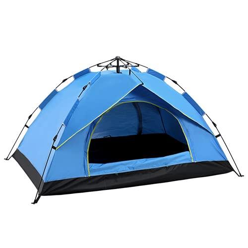 Tienda de campaña Familiar Light Pop Up, Tienda Instantánea, Tienda de cúpula, UV Impermeable, Fácil Montaje, Durable para Aire Libre Camping Playa Aventura (Blue,200x150x130cm/B)