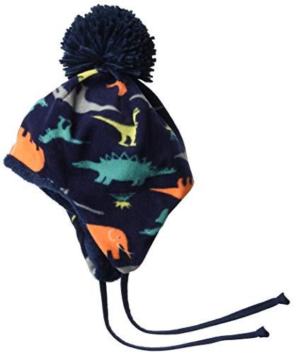 Sterntaler Inka-Mütze mit Bommel, Ohrenklappen und Bindebändern,Mehrfarbig,49 (12-18 Monate)