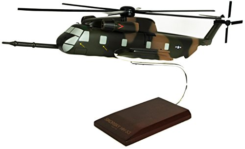 Mastercraft Collection Sikorsky MH-53 Pave Low HH-53D Jolly Green Giant USAF Air Force Special Operations Missions Heavy Lift Helicopter Model Scale: 1/48