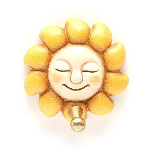 THUN  - Gancio porta strofinaccio singolo a forma di sole