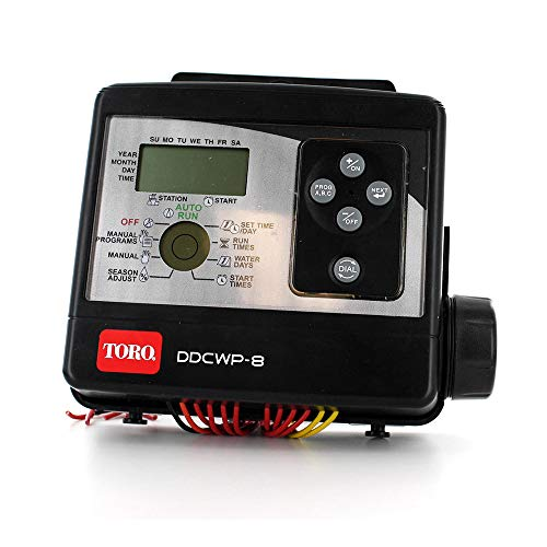 Toro DDCWP-8-9V Waterproof 8 Station Battery Controlled Controller