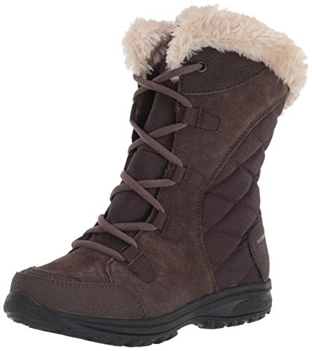 Columbia Women's Ice Maiden Ii Snow Boot, Cordovan, Siberia, 9.5 B US