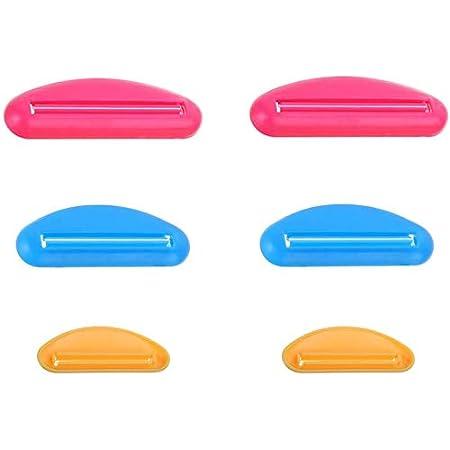 GCOA 6個 多機能 チューブ絞り器 軟膏押出器 歯磨き粉 押出機 便利プラスチック 絞り器 (3 サイズ)