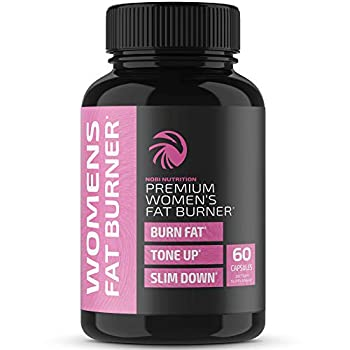 Nobi Nutrition Fat Burner for Women - Weight Loss Diet Pills Carb Blocker Metabolism Booster & Appetite Suppressant - Thermogenic Weight Loss Pills for Women
