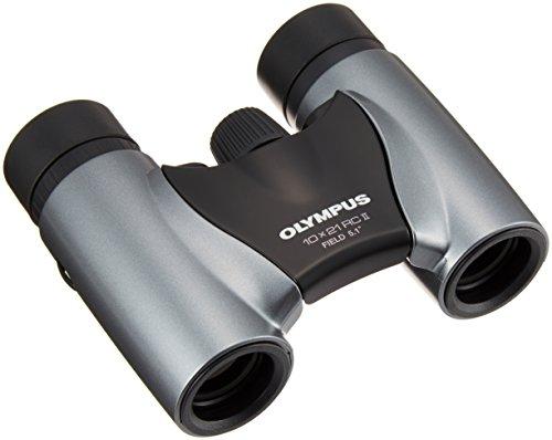 Olympus 10x21 RC II Fernglas mit Tasche silber