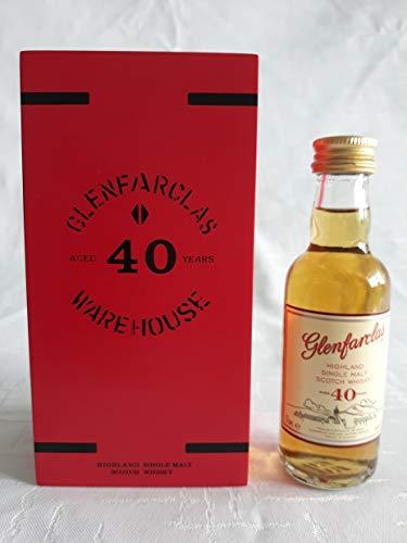 0,05l - Glenfarclas - 40 Jahre - Miniatur in GP - Highland Single Malt Scotch Whisky - 43,0% vol.