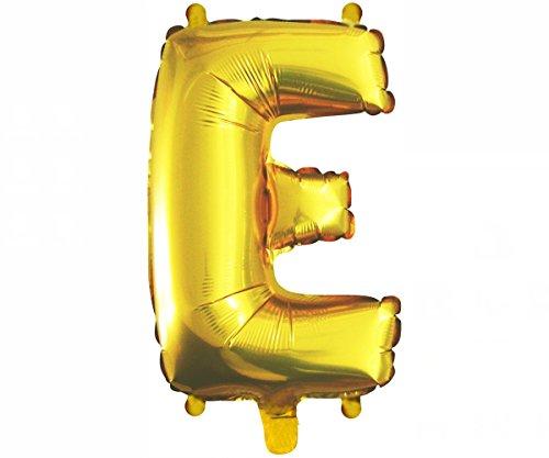 Cotigo-Globo Letra Foil Color Oro para Fiestas de Cumpleaños 40cm(E)