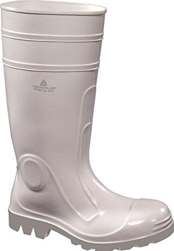 Deltaplus White Viens2 Galoshes Rain Boots Wellington Boots US Size 11