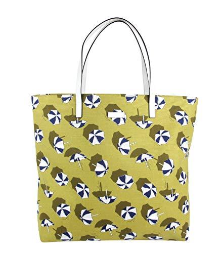 Fashion Shopping Gucci Women's Heartbit Canvas Yellow/Parasol Tote Handbag