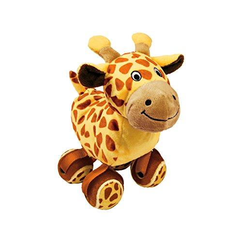 KONG Hundespielzeug Giraffe mit Tennisballfüssen