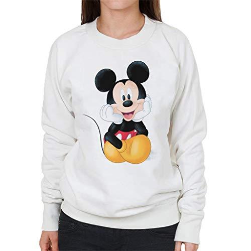 Disney Mickey Mouse Cute Sketch Women's Sweatshirt
