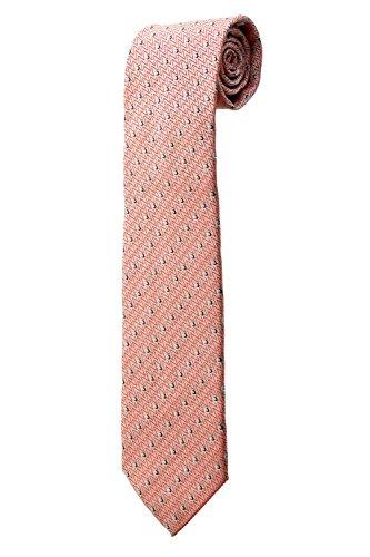 Cravate large blanche et zigzags rouges DESIGN costume