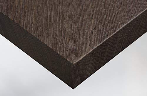 Cover Styl 20,16€/m² Premium Klebe Folie Holz Optik B9 - Ebony Light Brown Deko Möbelfolie selbstklebend Struktur 122cm Breite