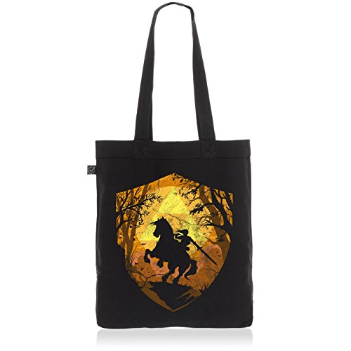 style3 Ride Through Hyrule Biobaumwolle Beutel Jutebeutel Tasche Tote Bag
