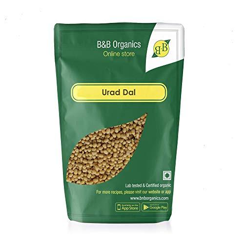 B&B Organics Urad Dal, 2 kg