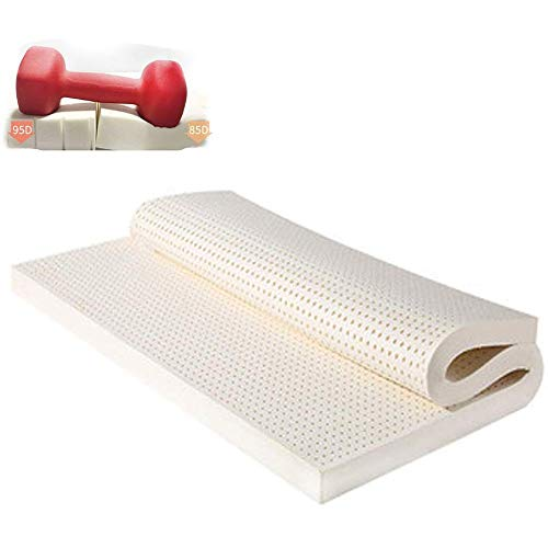 LBSX [95D 90cm * 190 Centimetri * 3 Centimetri Memory Foam e Innerspring Hybrid Materasso - Medium Tatto - Pieghevole 80% Lattice Area Supporto 7 Natural
