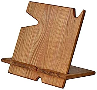 White Whale Wood Phone Docking Station with Key Holder, Wallet Stand and Watch Organizer Men's Gift MyFancyCraft Compatibl...