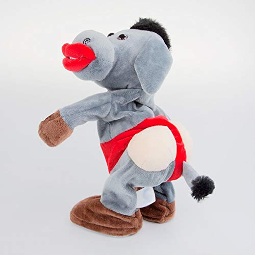 Qylfsxb plush toy Turn Head Dancing Donkey Ass Twist With The Song Plush Toys Electronic Stuffed Animals For Children Girls Boys Baby