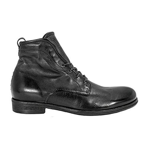 A.S. 98 U19204 - Botas de hombre con cordones, color negro