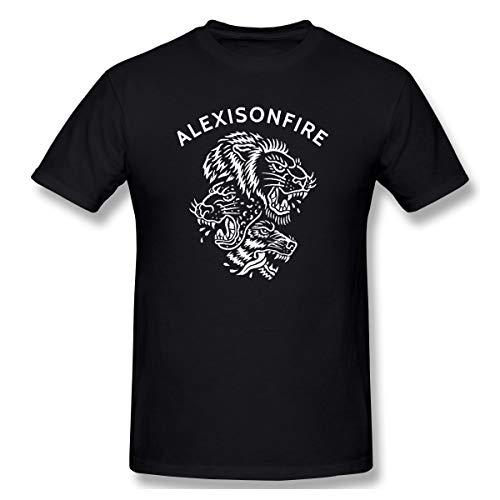 Sallyigueroa Herrens Alexisonfire Casual Style Farbname T-Shirt Mit Herren M