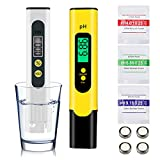 Jnancun PH Meter and TDS Meter Combo PH Pen Digital Water Tester 0.01Ph