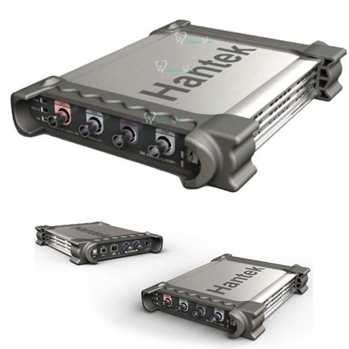 Hantek® 4 en 1 DSO3064A - Osciloscopio digital para diagnóstico automotor, USB basado en PC, forma de onda arbitraria, análisis del espectro generador, contador de frecuencia, 4 canales, 200 msa/s, ancho de banda de 60 mhz CE