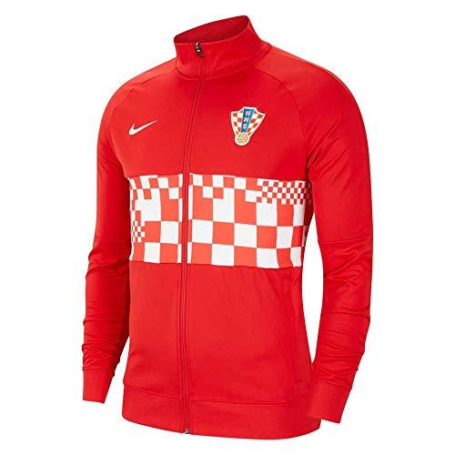 NIKE 2020-2021 Kroatien Hymne Jacke (rot) – Kinder, Unisex Kinder, rot, L