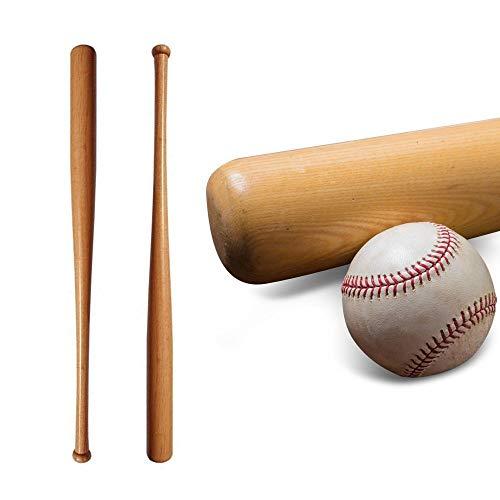 Oramics Honkbalknuppel van hout, 86 cm, ca. 34 inch of 61 cm, ca. 24 inch – ideaal voor bescherming en zelfverdediging – stabiel afgewerkt honkbalkracket van robuust hout.