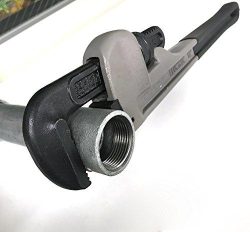 トネ(TONE)アルミパイプレンチALPW-250適応管径32A全長248mm最大口開き45mm