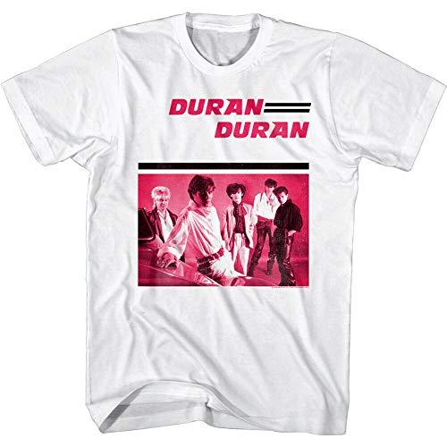 Duran Duran Debut Album 1981 Men's T Shirt New Wave Band Album Cover tee