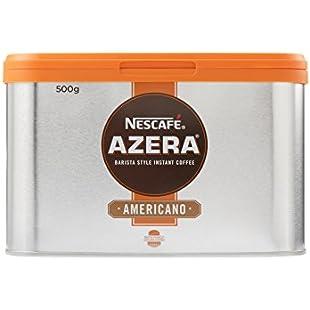 Customer reviews NESCAFE AZERA Americano Instant Coffee Tin, 500g