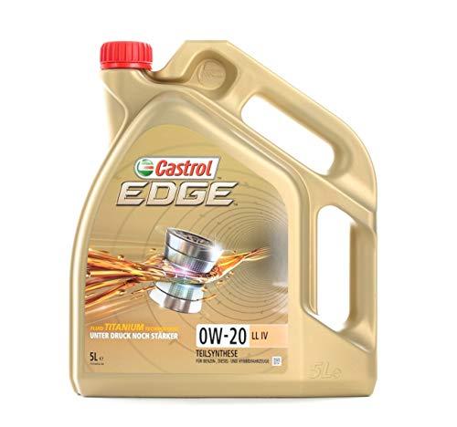 Castrol Motorolie Motorolie Motorolie Motorolie Motorolie Motor Engine Oil Edge 0W-20 Edge Titanium LL IV Benzine Diesel Hybrid 5L