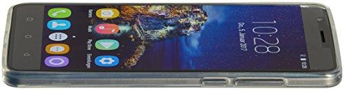 ((New Usciti)) OUKITEL U16 MAX - 6 pollici a schermo smartphone Android 7.0  MTK6753 Octa core 3G RAM 32G ROM fotocamera da 5 MP + 13 MP 4000mAh corpo in metallo impronta digitale - Grigio