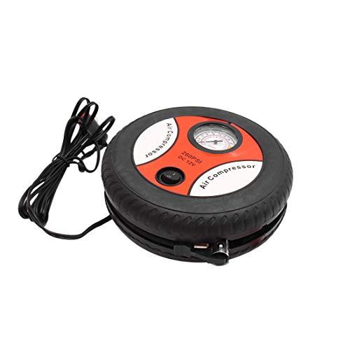 DyniLao Mini Bomba de compresor de aire eléctrica portátil Inflador de neumáticos de coche 12V 260PSI
